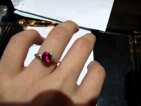 Les Precieux 1 Carats Natural Ruby Ring
