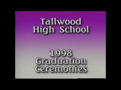 Tallwood High School Graduation Ceremonies (PART 1 OF 4) June 19th, 1998