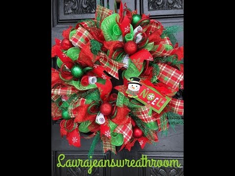 How To Make a Dollar Tree Christmas Wreath