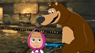 Мультик Маша и Медведь против Зомби 6 серия на русском