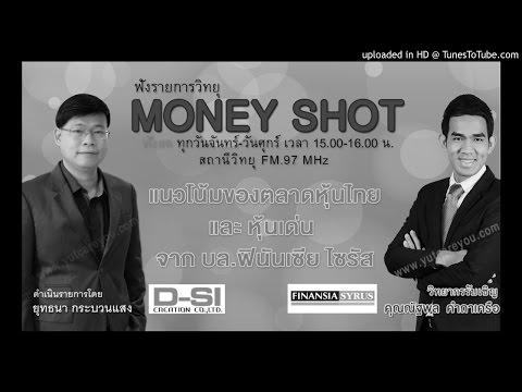 แนวโน้มของตลาดหุ้นไทย  และหุ้นเด่น จาก บล.ฟินันเซีย ไซรัส (17/10/59-1)