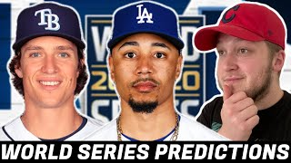 PREDICTING THE 2020 WORLD SERIES WINNER..