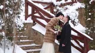 Winter Wedding Day. Sergey & Valeria