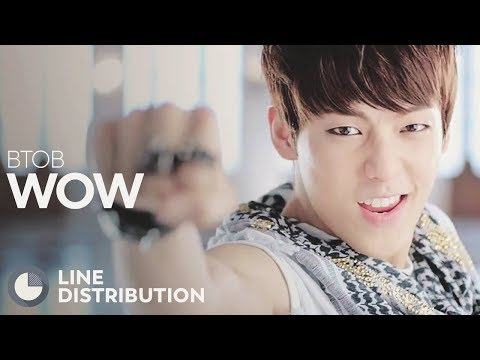 BTOB - WOW (Line Distribution)