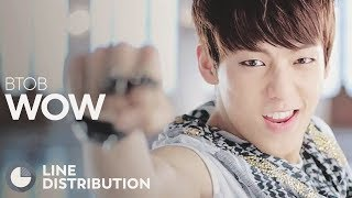 Video BTOB - WOW (Line Distribution) download MP3, 3GP, MP4, WEBM, AVI, FLV Desember 2017