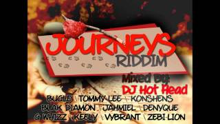 DJ Hot Head - Journeys Riddim Mix [UIM Records] - October 2012