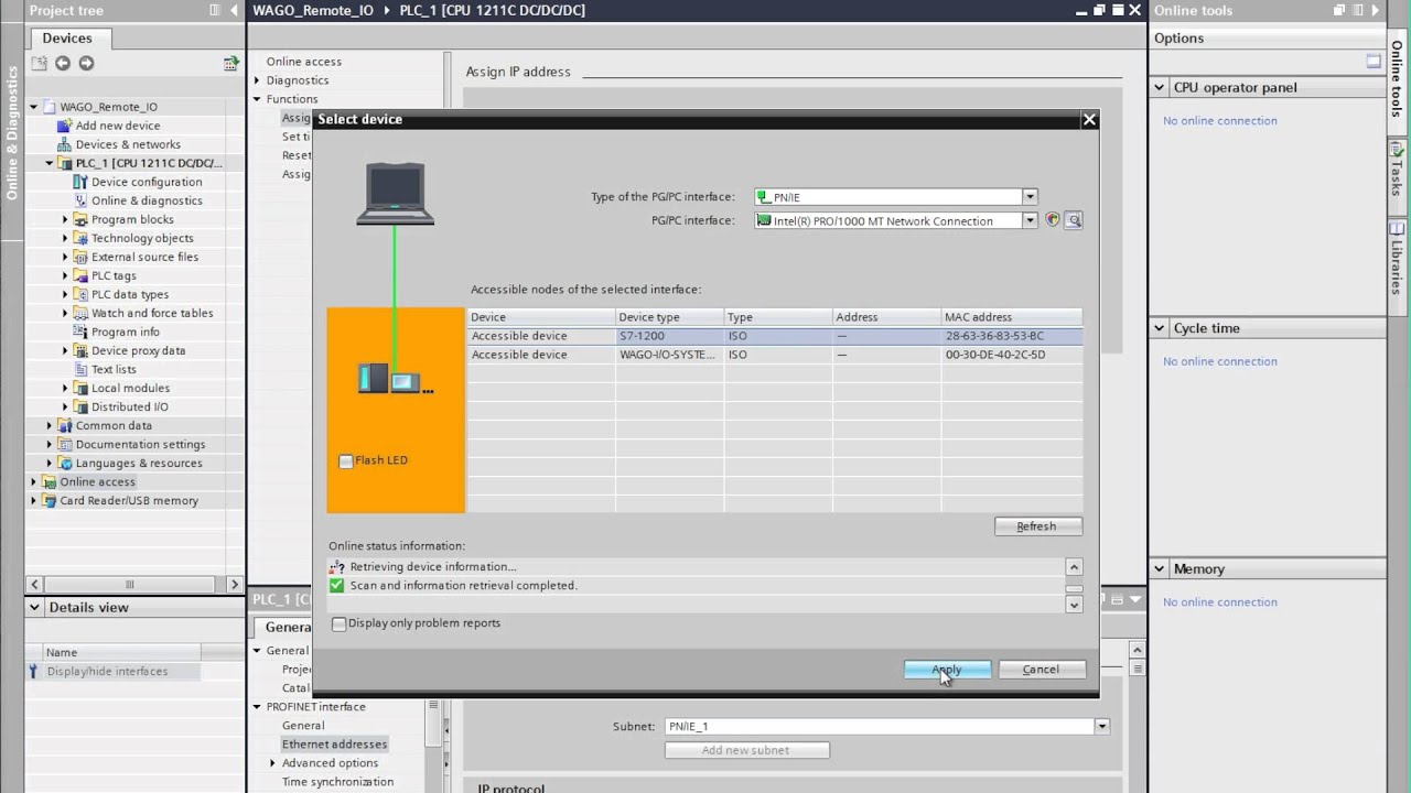 Adding WAGO PROFINET remote IO on SIEMENS S7 Controllers