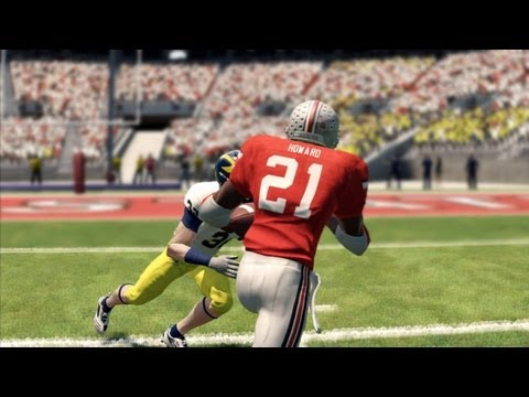 NCAA Football 13: Desmond Howard on Ohio State Interactive Video