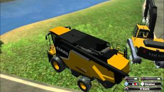 Repeat youtube video depannage class lexion farming simulator 2011