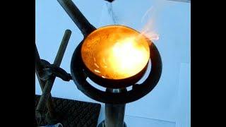 Анализ золота в руде. Получение нитрита натрия!