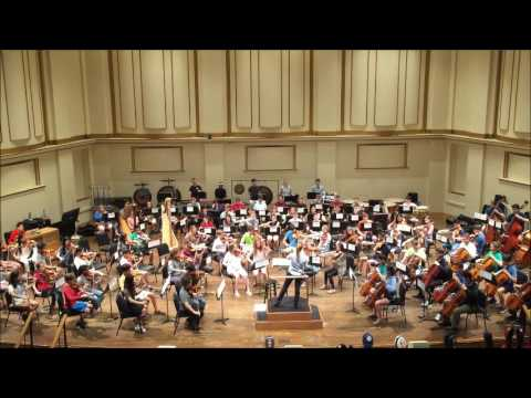 SLSYO rehearsal-Mussorgsky Pictures at an Exhibition