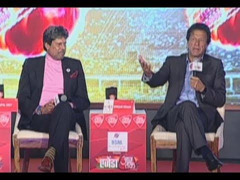 EXCLUSIVE: Imran Khan Tells Kapil Dev Why He Wants to Become Pakistan PM I Sports Tak