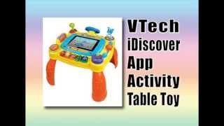 ➨ Vtech Idiscover App Activity Table Toy Review - Best Xmas Toy Review 2013-2014