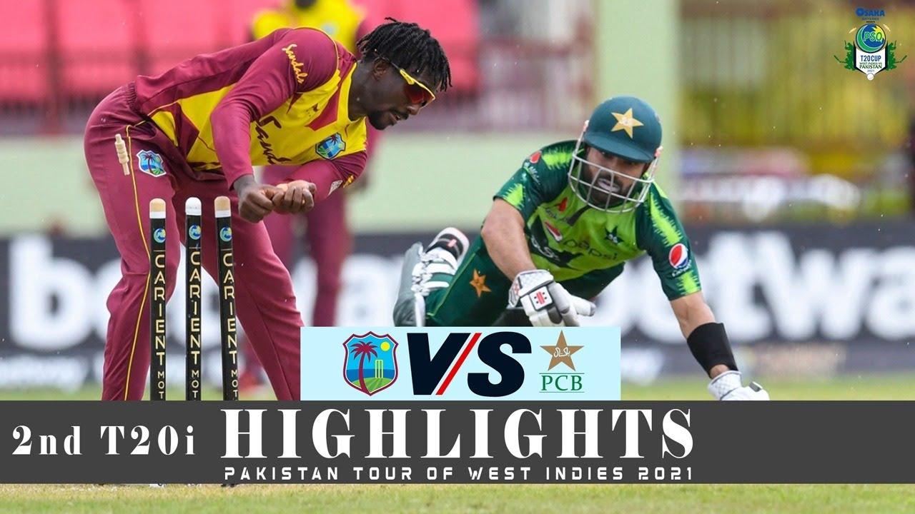West Indies vs Pakistan Highlights | 2nd T20i | Pakistan tour of West Indies 2021