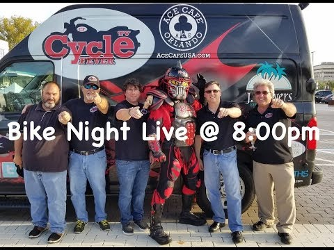 CycleFeverTV Live @ Ace Cafe Bike Night 8-8-2019