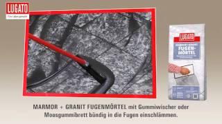 granit verfugen trasszement video. Black Bedroom Furniture Sets. Home Design Ideas