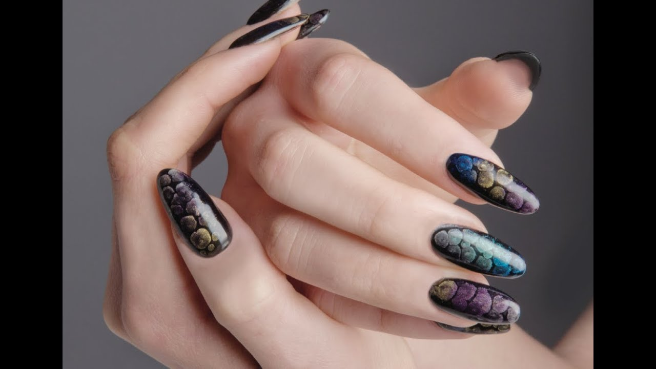 Exotic Charm Using Young Nails Maniq Color And Pigments Gel