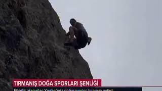 Türkeli Hacıağaç 1 Tırmanış Doğa Sporları Şenliği TRT Haber 39 de
