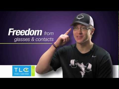 Follow Aaron Dudley on his LASIK journey at TLC Eyecare