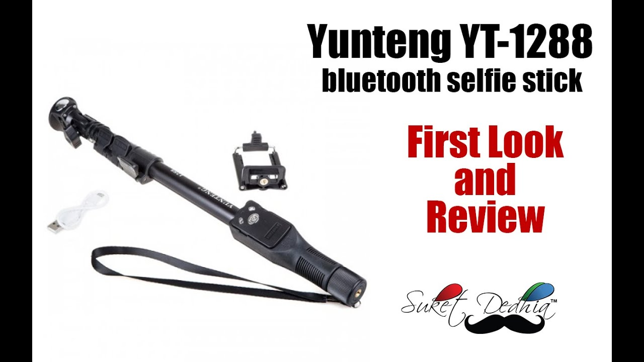 yunteng yt 1288 bluetooth selfie stick review youtube. Black Bedroom Furniture Sets. Home Design Ideas