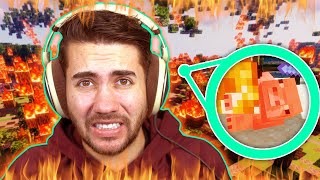 EXTINGUISHING MEGAFIRE IN MINECRAFT!! (INSANE)