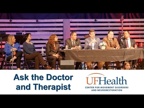 Ask the Doctor & Therapist about Parkinson's Disease - 2017 Parkinson's Symposium
