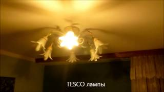Сравнение светодиодной лампы - E14 - лампа 4W и TESCO E14-9W(, 2013-03-28T08:16:54.000Z)