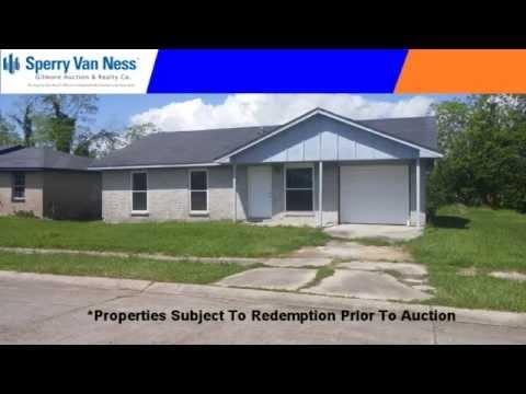 Jefferson Parish Adjudicated Property Auction
