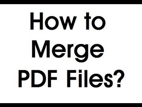 How To Merge PDF Files Into One Using PDF Binder