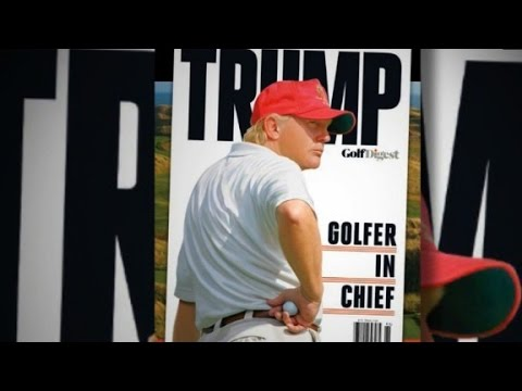 Trump vs. Obama on the golf course