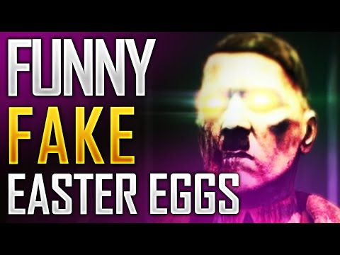 Funniest Fake Easter Egg Theories In CoD Zombies EP.1! Hitler Boss!