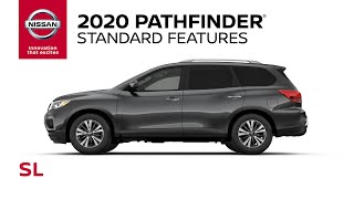 homepage tile video photo for 2020 Nissan Pathfinder SL Walkaround & Review