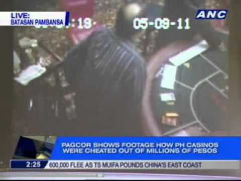 PAGCOR shows CCTV footage on how PH casinos were cheated out of millions of pesos