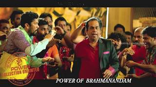 Brahmi Dance - Power Movie Songs - Ravi Teja, Hansika, Regina Cassandra
