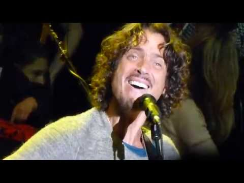 Soundgarden BLOW UP THE OUTSIDE WORLD  Acoustic @ Bridge School Shoreline Mountain View 102514