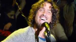 Soundgarden BLOW UP THE OUTSIDE WORLD Live Acoustic @ Bridge School Shoreline Mountain View 10-25-14