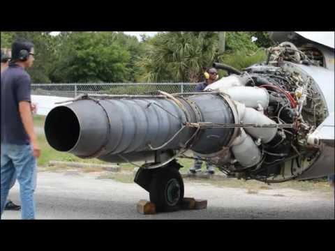 AERO VODOCHODY L-29 DELFIN Engine Start Tom P. Haney Tech. Center (Day) Powerplant Class