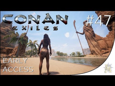 Conan Exiles: #47 - Defensive Wall-Walkways