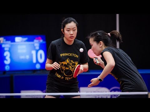 2018 iSET College Table Tennis Championships - Team & Doubles Prelims (Day 1) - Table 1