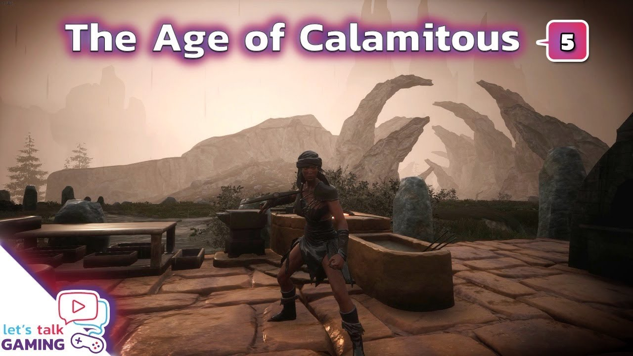 Conan Exiles - Age of Calamitous - Finding a spot for our new Home - S5E05