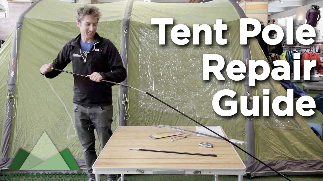 sc 1 st  YouTube & Tent Pole Repair Guide - YouTube