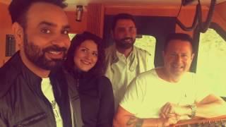 Babbu Maan Mitra Di Chatri Live During Video Shoot  (Vancouver 2016)
