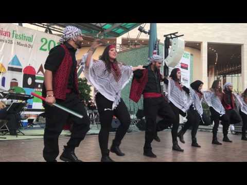 Houston Palestine Festival 2017 Dabke group