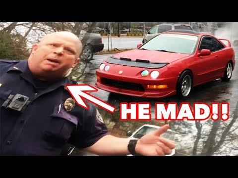 Смотреть SWAT Cops mistake Honda's Launch Control for AK47 machine gun fire онлайн