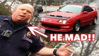 SWAT Cops mistake Honda