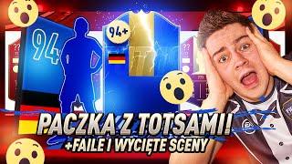 PACZKA Z TOTSAMI ZA MOJĄ ELITĘ! 94+! 2x IKONA! WYCIĘTE SCENY & FAILE! | FIFA 19