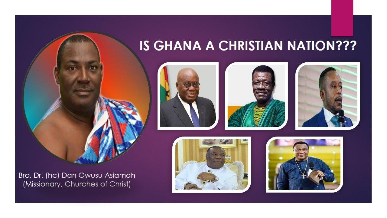 Download Bro. Dr. Dan Owusu Asiamah - Is Ghana A Christian Nation ???