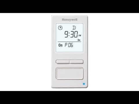 Honeywell ECONOSwitch 7-Day Solar Programmable Light Switch - White (RPLS740B1008)