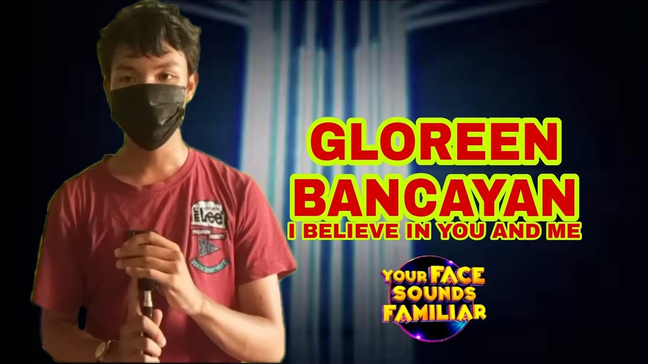 """Download Gloreen Bancayan Taking Whitney Houston """"I Believe in you and me"""" 