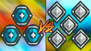 3 Platinum VS 5 SiĮver Players! - Who Wins?